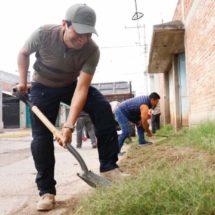 Generan en Xoxocotlán espacios limpios a través del tequio