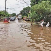 Juchitán, cubierta de agua