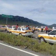 Llega caravana taxista a Jalapa