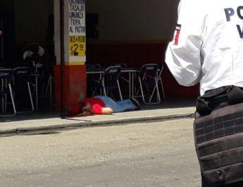 Matan a tiros a una mujer en pleno centro de Tuxtepec