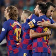 ¡Barcelona golea y recupera la cima en España!