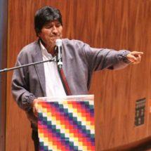 Los indios gobernaron mejor que los de Harvard: Evo Morales