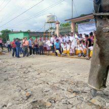 Dávila inicia obras de drenaje sanitario en colonias por más de 4 millones de pesos