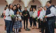 Ayuntamiento de Cosamaloapan promueve reforestación con la entrega de arboles
