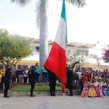 Conmemoran en Xoxocotlán 109 aniversario de la Revolución Mexicana
