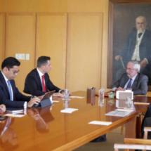 Gobierno de Oaxaca y UNAM buscan fortalecer la oferta educativa de nivel superior en la entidad