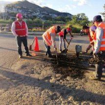 Gobierno de Xoxocotlán continúa trabajos para el mejoramiento vialidades