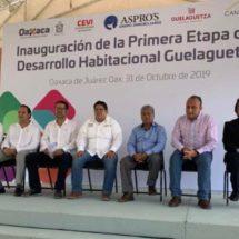 Promueve la CEVI construcción de viviendas; empresa inaugura 128 casas en Oaxaca