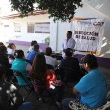 Promueven medidas sanitarias en establecimientos de Xoxocotlán