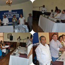 Uriel Rosas toma protesta a comité de asociación de periodistas de la Cuenca del Papaloapan