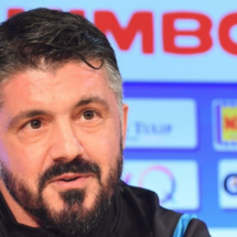 Gattuso, sin miedo a medirse al Barcelona