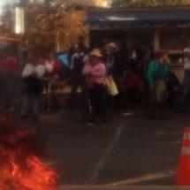 Agreden a periodista Rebeca Luna durante protestas de Teopoxco