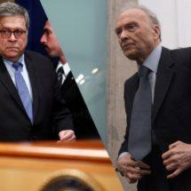 William Barr y Gertz Manero concluyen encuentro privado en FGR