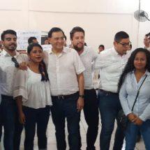 Benjamín Robles realiza asamblea informativa en Tuxtepec del PT