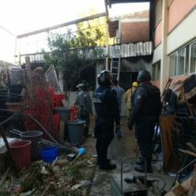 Otra vez, Bomberos hacen labor de Santa Lucía del Camino ante falta de apoyo