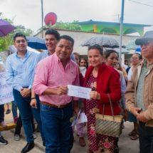 Nuestro compromiso es mejorar Tuxtepec: Dávila