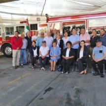 100 equipos de respiración autónoma para bomberos de Oaxaca