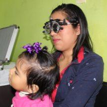 Atendió DIF Tuxtepec a 120 personas en la primer campaña de salud visual