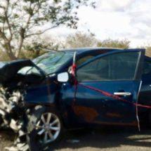 Accidente carretero deja dos muertos y tres heridos en el Istmo
