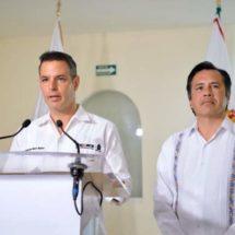 Acuerdan Oaxaca, Veracruz y gobierno federal combate a la delincuencia al más alto nivel