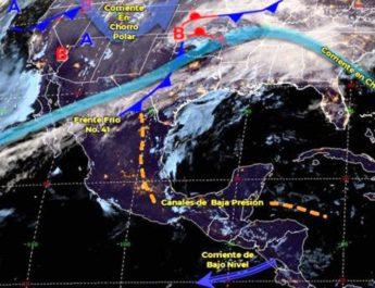 Pronóstico del tiempo en México para lunes 24 de febrero del 2020