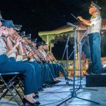 Exitosa presentación de la Banda de Música de la VIII Región Militar en Tuxtepec