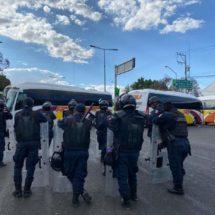 Policía Estatal, en alerta ante desmanes de pobladores de Teopoxco