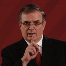 Marcelo Ebrard justifica alza en extradiciones a Estados Unidos