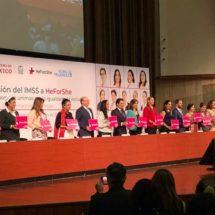 IMSS se une a la campaña 'HeForShe' de ONU Mujeres