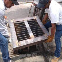 Gobierno de Tuxtepec pone en marcha sustitución y rehabilitación de rejillas
