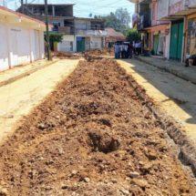 Concluyen trabajos de mejoramiento del drenaje sanitario en bulevar Ávila Camacho y Daniel Soto en Tuxtepec.