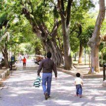 Policía capitalina restringirá algunos espacios públicos, en cuarentena