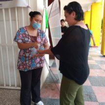 Instalan módulos de salud en el palacio municipal