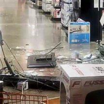 Saquean tienda en Xoxocotlán