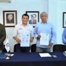 Firman Semaedeso y Canacintra Convenio de Colaboración a fin de fomentar un medio ambiente sano
