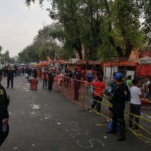 Ignoran Sana Distancia y abarrotan Mercado La Viga en Ciudad de México