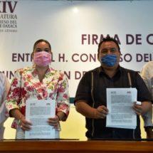 Cumple Congreso con entrega de un mes de sueldo de diputados para atención de COVID