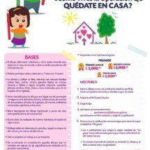 Convoca DIF Oaxaca a concurso infantil de dibujo «Quédate en Casa»