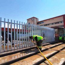 Desinfectan hospital civil en Oaxaca capital