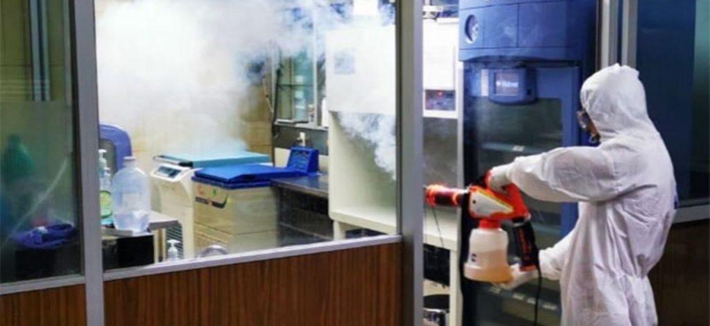 Realiza IMSS sanitización total del HGZ No. 7 en Monclova