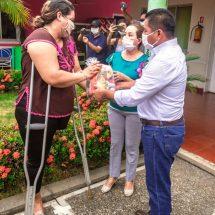 DIF Tuxtepec realiza entrega simbólicade primeros 335 apoyos alimentarios