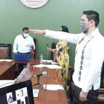 En Sesión Extraordinaria virtual integran a Emanuel Sánchez Ñeco al Cabildo de Tuxtepec