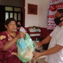 Se entregan despensas y medicinas en la Casa