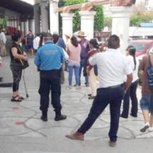 Movimiento telúrico dispara los nervios en Tehuantepec