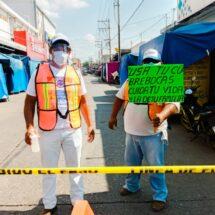 Responde ciudadanía al llamado del Gobierno Municipal para reducir contagios de Covid-19 en Tuxtepec