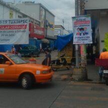 Gobierno de Tuxtepec promueve el uso de cubrebocas