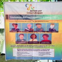 Mujeres por Cosamaloapan dan plática de como prevenir los contagios de COVID 19 en comunidades