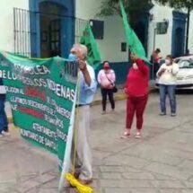 Invasores insisten que el gobierno de Oaxaca les dé terrenos