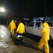 Protección Civil Municipal vigila zonas de alto riesgo por inundaciones en temporada de lluvias