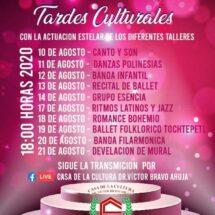 Casa de cultura de Tuxtepec ofrecerá conciertos artísticos virtuales